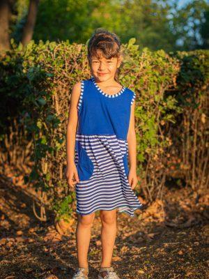 детска-морска-рокля-Лора