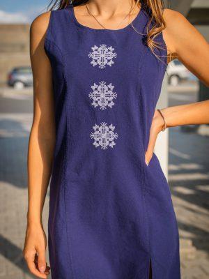 синя-рокля-с-шевица