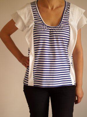 дамска-морска-тениска