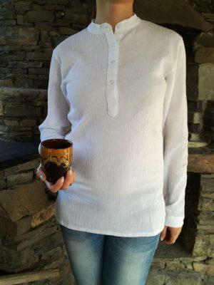 бяла-кенарена-дамска-риза